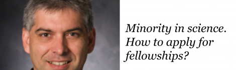 NanoBio REU seminar series - Dr. Walter Schmidt on minorities in science and fellowship application