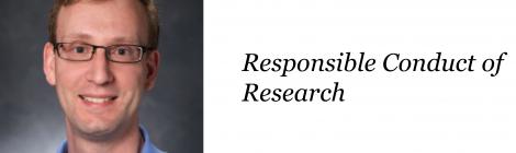 NANOBIO REU SEMINAR SERIES – DR. VINCENT STARAI ON Responsible conduct of research