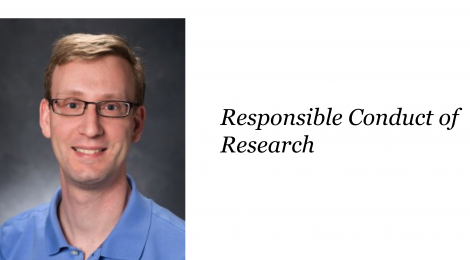 NANOBIO REU SEMINAR SERIES – DR. VINCENT STARAI ON Responsible conduct of research