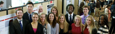 2015 Poster showcase of REU@UGA