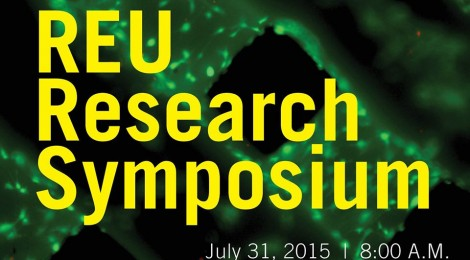2015 College of Engineering REU Research Symposium