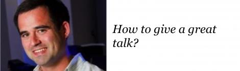 NANOBIO REU SEMINAR SERIES – DR. Jason locklin ON how to prepare an oral presentation